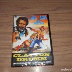 Cine: CLAYTON DRUMM DVD 195 MIN. FABIO TESTI WARREN OATES NUEVA PRECINTADA. Lote 269694823