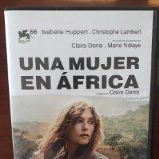 Cine: UNA MUJER EN AFRICA - 2009 - DIRIGIDA POR CLAIRE DENIS - CON ISABELLE HUPPERT Y CHRISTOPHER LAMBERT . Lote 159638070