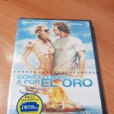 Cinéma: (WARNER) COMO LOCOS A POR EL ORO - DVD NUEVO PRECINTADO. Lote 159662170