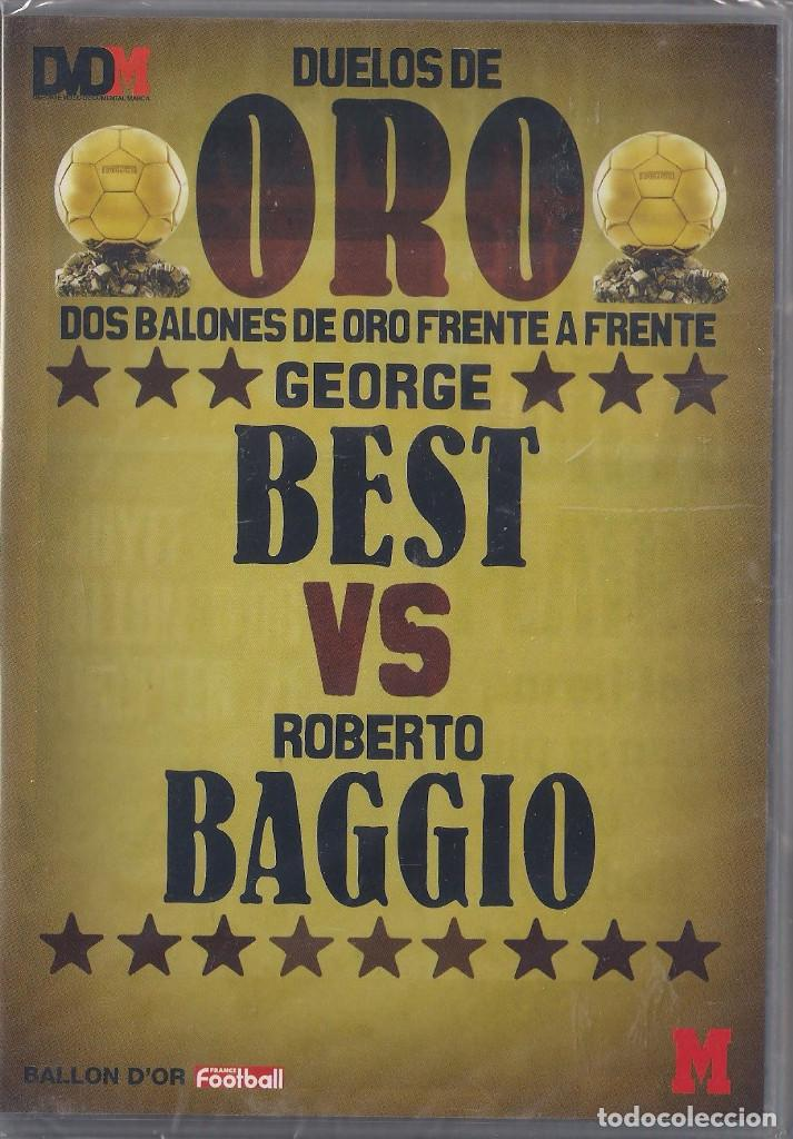 DUELOS DE ORO 4 DVD'S SUAREZ/RIBERA,EUSEBIO/GULLIT,RONALDO/SEVCHENKO,BEST/BAGGIO NUEVOS PRECINTADOS (Cine - Películas - DVD)