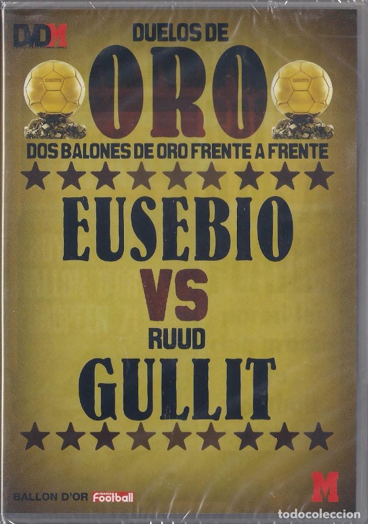 Cine: Duelos de oro 4 Dvds Suarez/Ribera,Eusebio/Gullit,Ronaldo/Sevchenko,Best/Baggio Nuevos Precintados - Foto 2 - 159663142