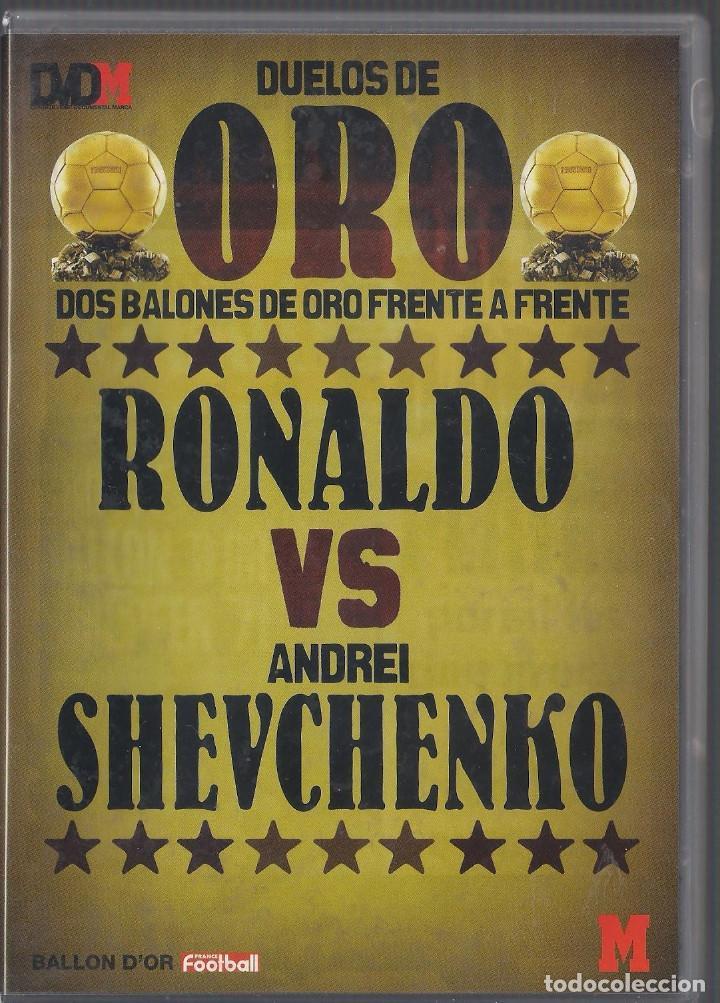 Cine: Duelos de oro 4 Dvds Suarez/Ribera,Eusebio/Gullit,Ronaldo/Sevchenko,Best/Baggio Nuevos Precintados - Foto 3 - 159663142