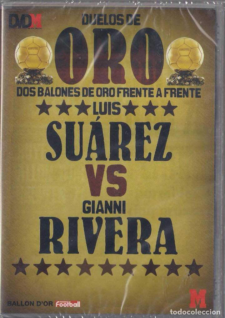Cine: Duelos de oro 4 Dvds Suarez/Ribera,Eusebio/Gullit,Ronaldo/Sevchenko,Best/Baggio Nuevos Precintados - Foto 4 - 159663142