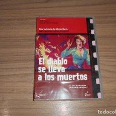 Cine: EL DIABLO SE LLEVA A LOS MUERTOS DVD DE MARIO BAVA TERROR NUEVA PRECINTADA. Lote 159694858
