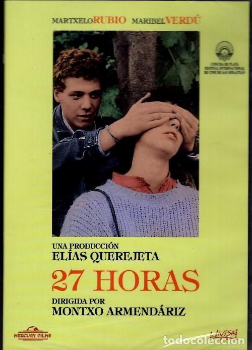 27 HORAS DVD (MONTXO ARMENDARIZ)..LOS HIJOS DEL PUEBLO VAN CAYENDO EN LOS ROBOS Y LA DROGA (Cine - Películas - DVD)