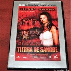 Cine: DVD - TIERRA DE SANGRE - DIR. TOM HOOPER. Lote 159818846