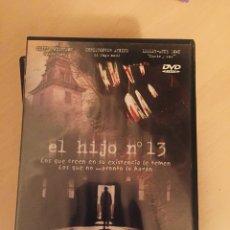 Cine: EL HIJO Nº13 DVD STEVEN STOCKAGE. Lote 159820881