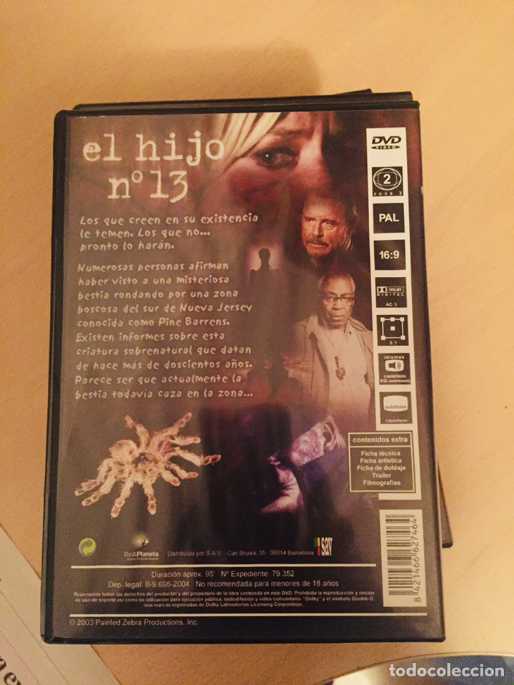 Cine: El Hijo Nº13 DVD STEVEN STOCKAGE - Foto 2 - 159820881