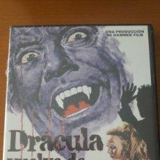 Cine: DVD PRECINTADO TERROR DRACULA VUELVE DE LA TUMBA CHRISTOPHER LEE. Lote 159851900