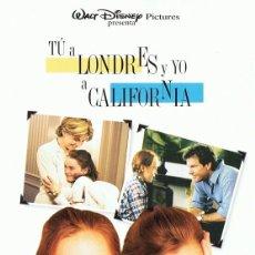 Cine: TÚ A LONDRES Y YO A CALIFORNIA . Lote 159877722
