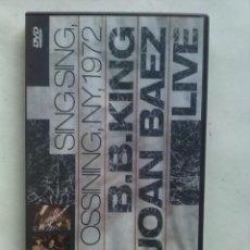 Cine: B.B.KING & JOAN BAEZ LIVE NEW YORK 1972. Lote 159897238
