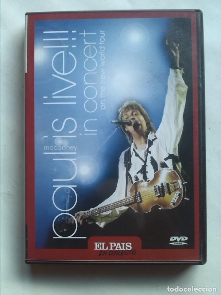 PAUL MCCARTNEY IS LIVE IN CONCERT ON THE NEW WORLD TOUR (Cine - Películas - DVD)