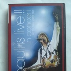 Cine: PAUL MCCARTNEY IS LIVE IN CONCERT ON THE NEW WORLD TOUR. Lote 159898122
