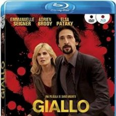 Cine: GIALLO (BLU-RAY + DVD). Lote 159925093