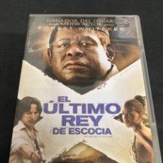 Cine: ( S135 ) EL ÚLTIMO REY DE ESCOCIA - FOREST WHITAKER ( DVD SEGUNDA MANO ). Lote 159938733