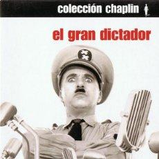 Cine: EL GRAN DICTADOR CHARLES CHAPLIN ( EDICIÓN ESPECIAL 2 DISCOS). Lote 160011530