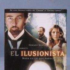 Cine: DVD. EL ILUSIONISTA. Lote 160164018