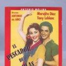 Cine: DVD. EL PESCADOR DE COPLAS. ANTONIO MOLINA. Lote 160164294