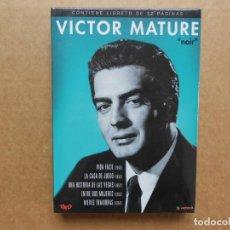 Cine: VICTOR MATURE NOIR RKO 5 PELICULAS DVD PRECINTADO NUEVO. Lote 160233882