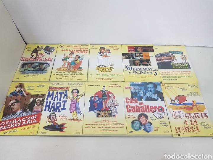 COLECCIÓN DE 10 PELÍCULAS DE ESPAÑOLAS ANTIGUAS GRACITA MORALES JOSÉ LUIS LÓPEZ VÁZQUEZ... (Cine - Películas - DVD)