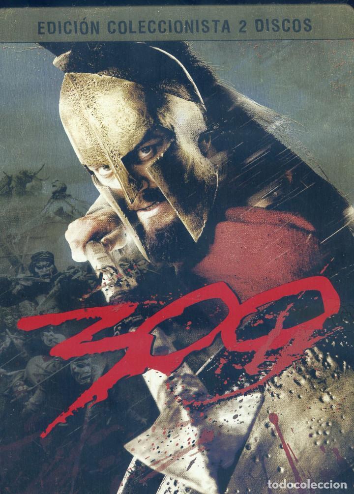 300 (2006) EDICION ESPECIAL COLECCIONISTA 2 DISCOS (Cine - Películas - DVD)