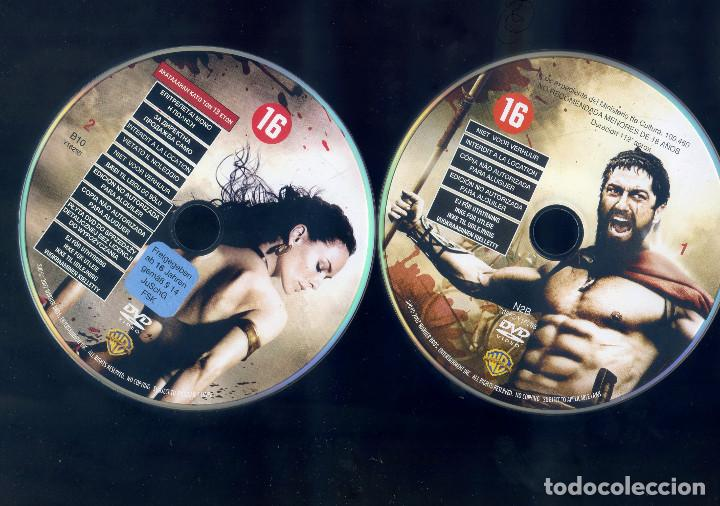 Cine: 300 (2006) EDICION ESPECIAL COLECCIONISTA 2 DISCOS - Foto 3 - 160258326
