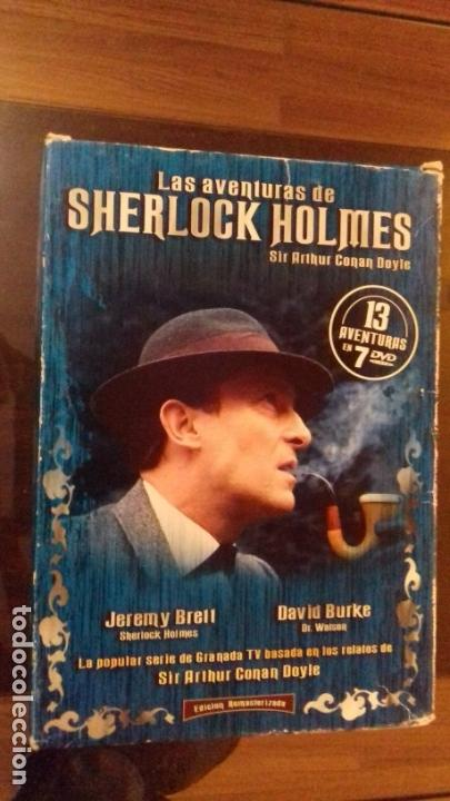 Dvd Sherlock Holmes Lote Pack Con 13 Capitulos 7 Dvds