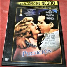 Cine: DVD - PERDICIÓN - DIR. BILLY WILDER. Lote 160314614