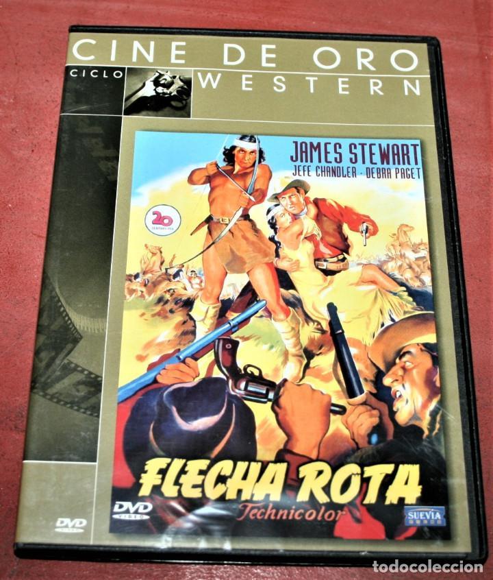 DVD - FLECHA ROTA - DIR. DELMER DAVES (Cine - Películas - DVD)