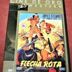 Cine: DVD - FLECHA ROTA - DIR. DELMER DAVES. Lote 160314718