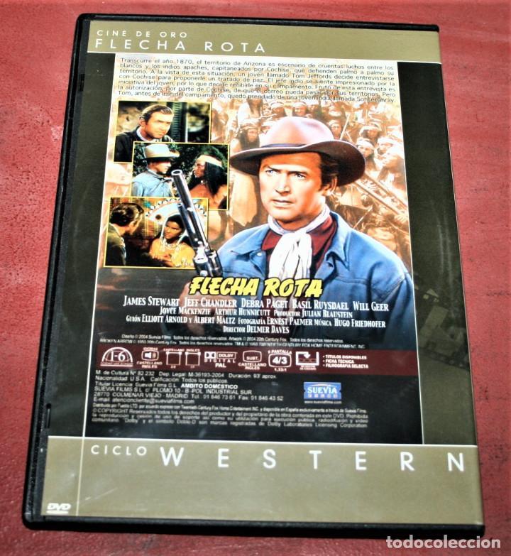 Cine: DVD - FLECHA ROTA - DIR. DELMER DAVES - Foto 2 - 160314718