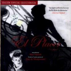 Cine: EL PLACER DVD (MAX OPHULS) PACK-2 DISCOS + LIBRETO . EDICION ESP. COLECCIONISTA (VER TEXTOS + FOTOS). Lote 160317406