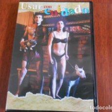 Cine: DVD USAR CON CUIDADO. Lote 160345298