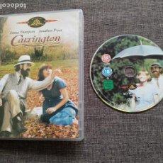 Cine: DVD CARRINGTON - EMMA THOMPSON - JONATHAN PRYCE - MGM. Lote 160355074