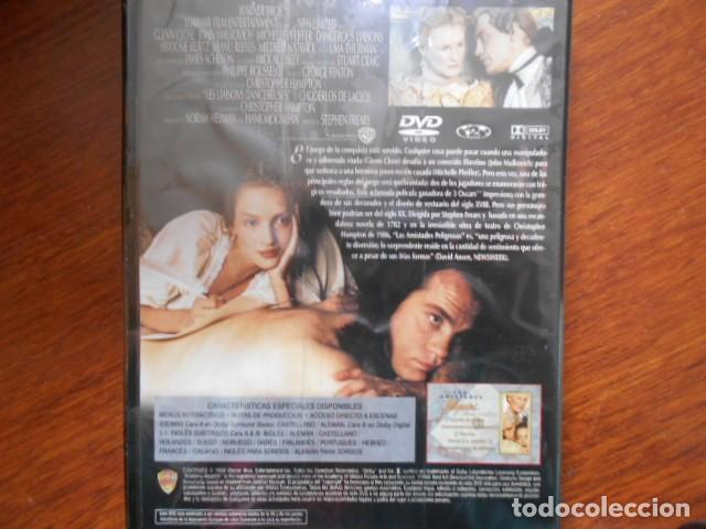 Cine: DVD-LAS AMISTADES PELIGROSAS-PRECINTADO - Foto 2 - 160357942