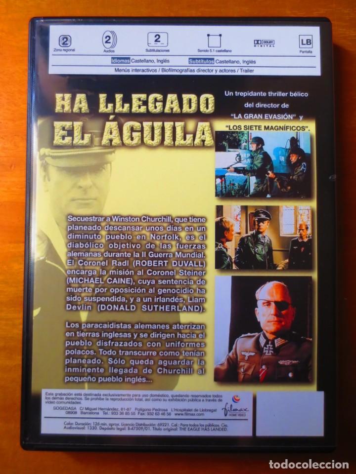 Cine: Ha Llegado el Aguila (DVD) - Foto 2 - 160359714