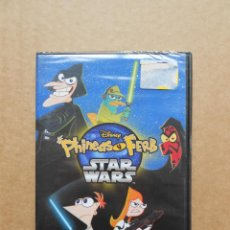 Cine: PHINEAS Y FERB STAR WARS DISNEY DVD - PRECINTADO - NUEVO. Lote 160363586