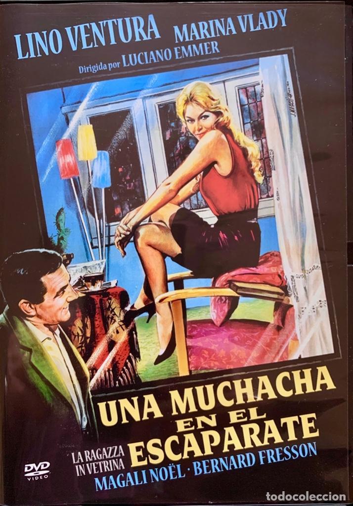 UNA MUCHACHA EN EL ESCAPARATE- UN FILM DE LUCIANO EMMER NO ESTRENADO EN ESPAÑA (Cine - Películas - DVD)