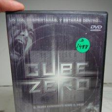 Cine: CUBE ZERO DVD DESCATALOGADO Y ÚNICO EN TC. Lote 160419622