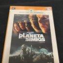 Cine: ( S145 ) EL PLANETA DE LOS SIMIOS - TIM ROTH ( DVD SEGUNDA MANO ). Lote 160462834