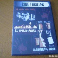 Cine: CINE THRILLER 2 PELICULAS / CAJA FINA DVD . Lote 160487106