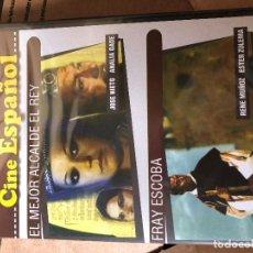 Cine: EL MEJOR ALCALDE, EL REY + FRAY ESCOBA. 2 DVD PRECINTADO. ALEMAR CAJA 3. Lote 160533782