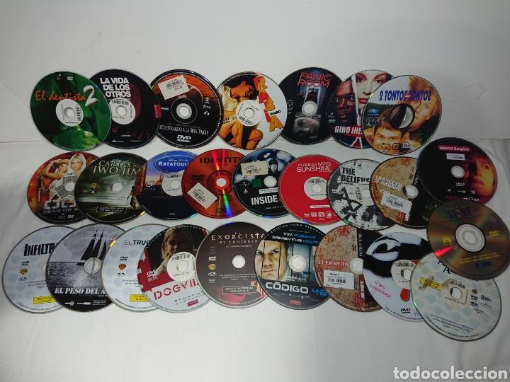 LOTE 25 PELÍCULAS EN DVD (SOLO DISCO) MUY BUENAS PELÍCULAS (Cine - Películas - DVD)