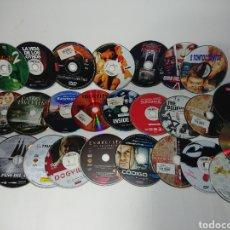 Cine: LOTE 25 PELÍCULAS EN DVD (SOLO DISCO) MUY BUENAS PELÍCULAS. Lote 160536610