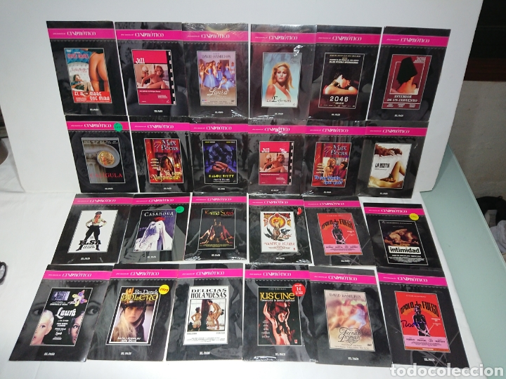 GRAN LOTE 24 DVDS CINE EROTICO EL PAIS (MUCHAS DE ELLAS PRECINTADAS) (Cine - Películas - DVD)