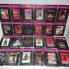 Cine: GRAN LOTE 24 DVDS CINE EROTICO EL PAIS (MUCHAS DE ELLAS PRECINTADAS). Lote 160539445