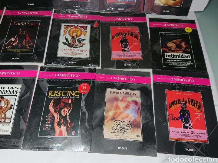 Cine: Gran Lote 24 DVDs Cine Erotico El Pais (muchas de ellas precintadas) - Foto 4 - 160539445