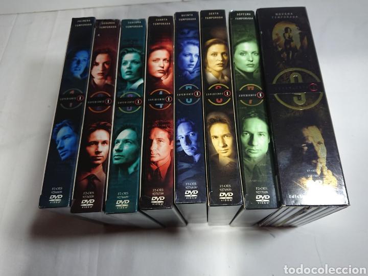 Cine: Expediente X - Serie Casi Completa 53 DVDs - Temporadas 1-2-3-4-5-6-7-9 - Foto 2 - 160540037