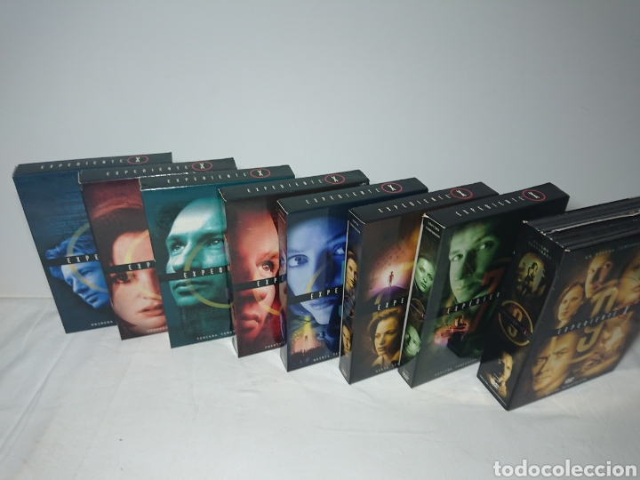 Cine: Expediente X - Serie Casi Completa 53 DVDs - Temporadas 1-2-3-4-5-6-7-9 - Foto 3 - 160540037