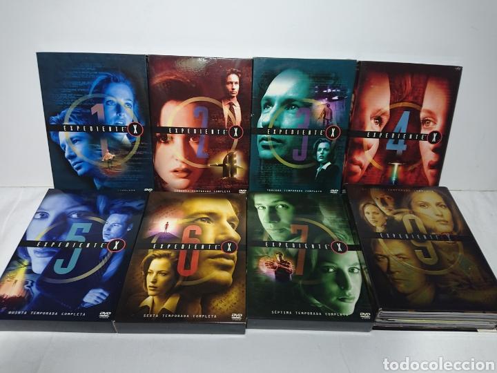 Cine: Expediente X - Serie Casi Completa 53 DVDs - Temporadas 1-2-3-4-5-6-7-9 - Foto 4 - 160540037